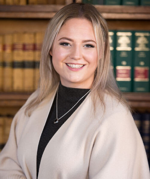 Alisha Rossetti is our primary Family Law Clerk, she was born and raised in Brockville. She provides me with support in all other areas of the practice. She is a graduate of St. Lawrence College Law Clerk program as well as Police Foundations